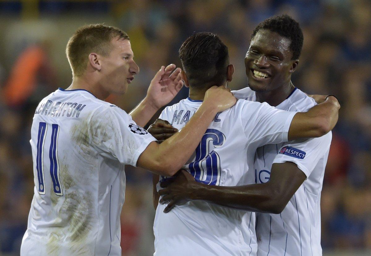 Leicester City jee, kljub slabemu uvodu v ligaško sezono, Ligo Prvakov začel z zmago. Vir: Squawka