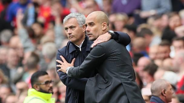 Pep Guardiola je teden dni nazaj s taktično predstavo zasenčil Joseja Mourinha. Vir: Independent.ie