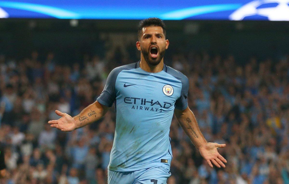 Sergio Aguero ej danes znova pokazal, kako pomemben člen svoje ekipe je. Vir: Manchester City Twitter