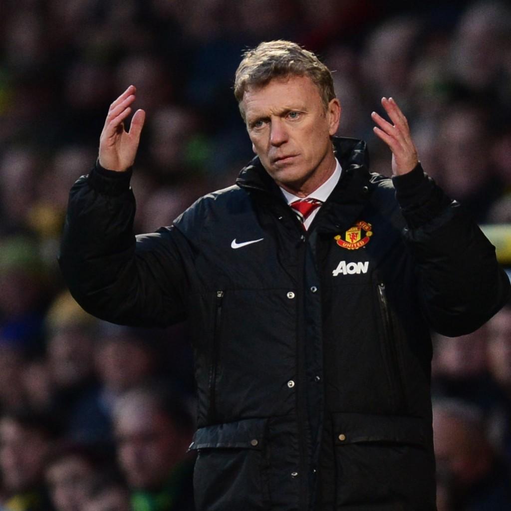 David Moyes je epizodo na klopi Uniteda zaključil s 53% zmag. Njegov naslednik Louis Van Gaal ima za odstotek slabšo uspešnost. Vir slike: Sky Sports