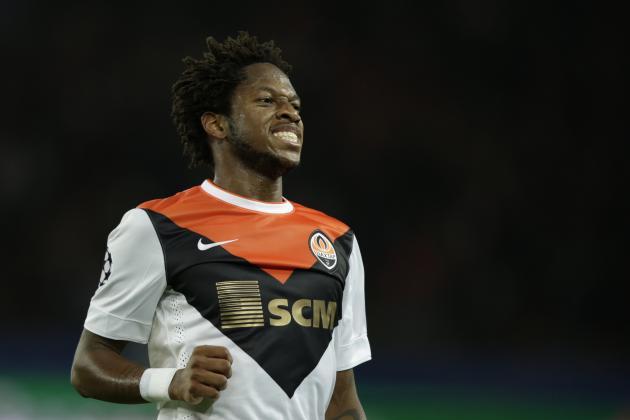 Fred je letos sodeloval na vseh šestih tekmah Lige Prvakov, tudi ko je njegov Shakhtar premagal Manchester City. Vir: Metro
