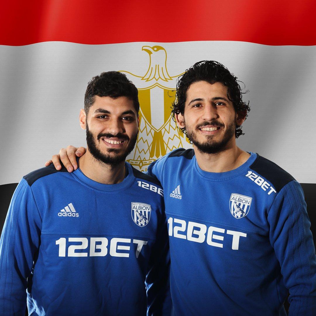 Hegazi in Gabr se zelo dobro poznata iz egiptovske reprezentance. Vir: WBA, Twitter