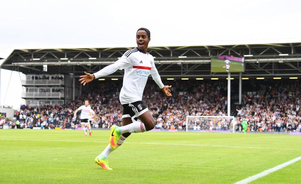 17-letnik je s svojimi predstavami obnorel Fulhamove navijače, pa tudi ostale ljubitelje otoškega nogometa. Vir: Sun