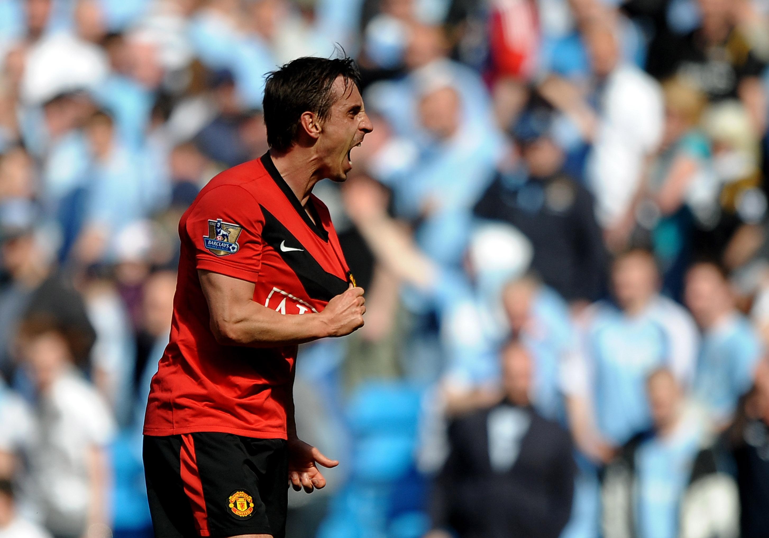 Neville je vso svojo kariero igral za Manchester United. Veljal je za enega najboljših bočnih branilcev tistega časa. Vir: talkSPORT