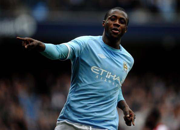 Yaya Toure se je v City preselil leta 2010 iz Barcelone. V tem času je dvakrat pokoril vso premierligaško konkurenco. Vir: zimbio.com
