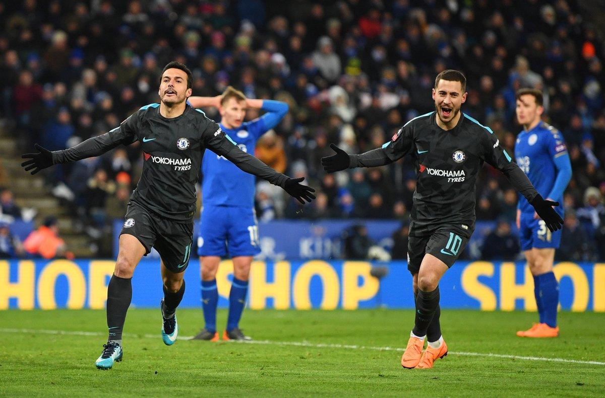 Pedro je bil danes as iz rokava Antonia Conteja, saj je v igro vstopil šele v podaljšku. Vir: BBC