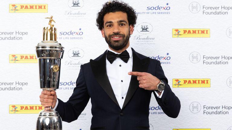 Salah je pred tem že osvojil nagrado za najboljšega igralca sezone po izboru PFA. Vir: Sky Sports