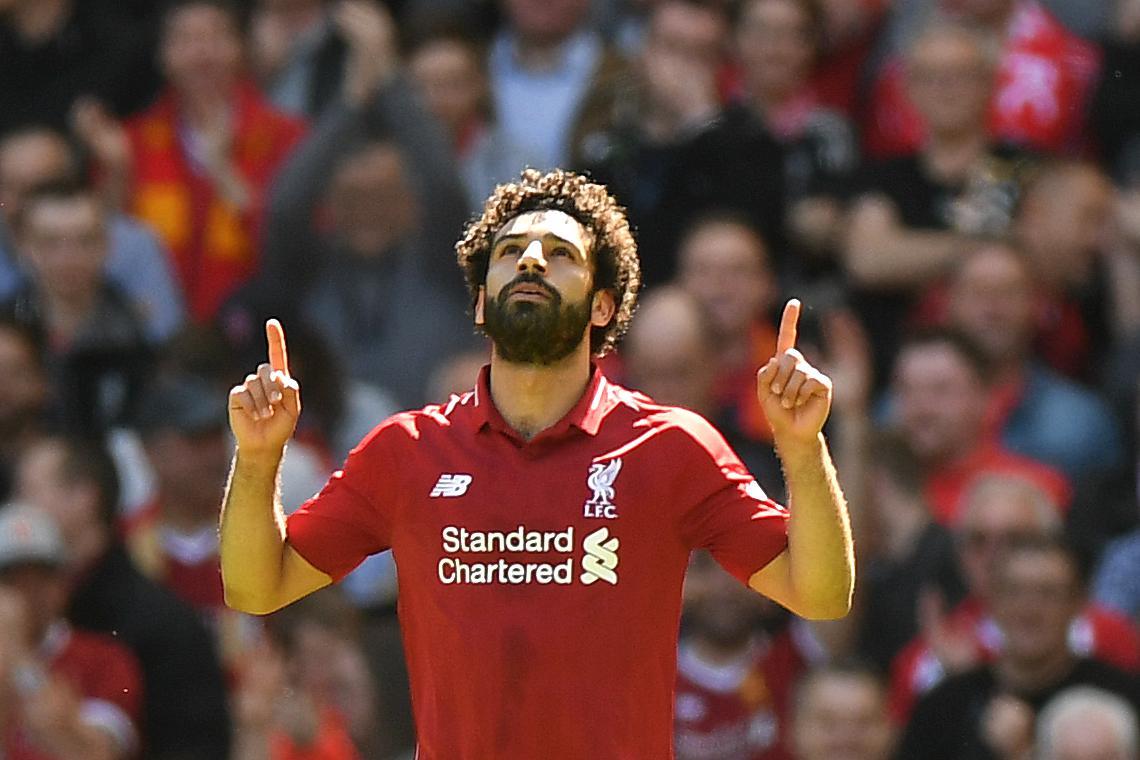Salah letos ni imel prave konkurence in je z 32 zadetki zasluženo najboljši igralec sezone. Vir: Twitter
