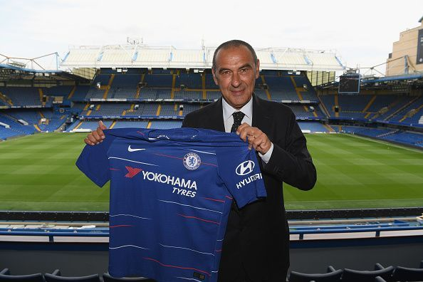 Chelsea bo v letošnji sezoni vodil Maurizio Sarri. Vir: Independent.ie