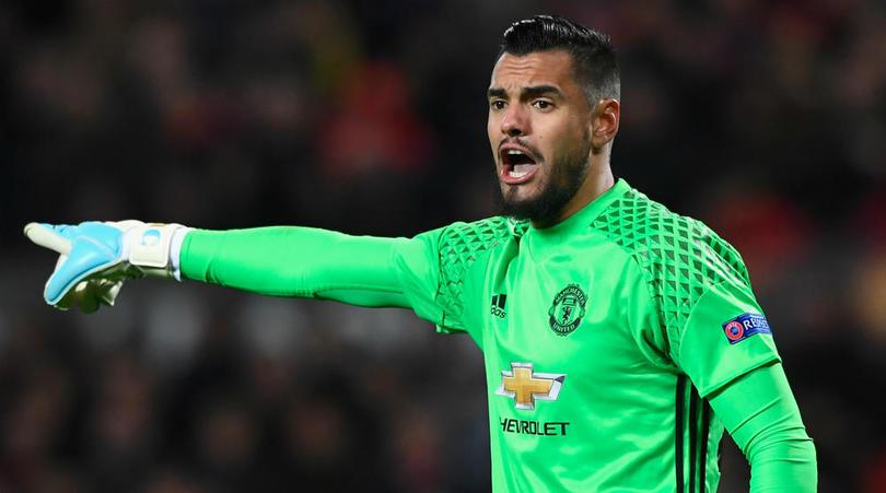 Serigo Romero (Manchester United) je morda res dober vratar, a niti v snu ne bo dobil prednosti pred Davidom De Geo. virFOTO: FourFourTwo