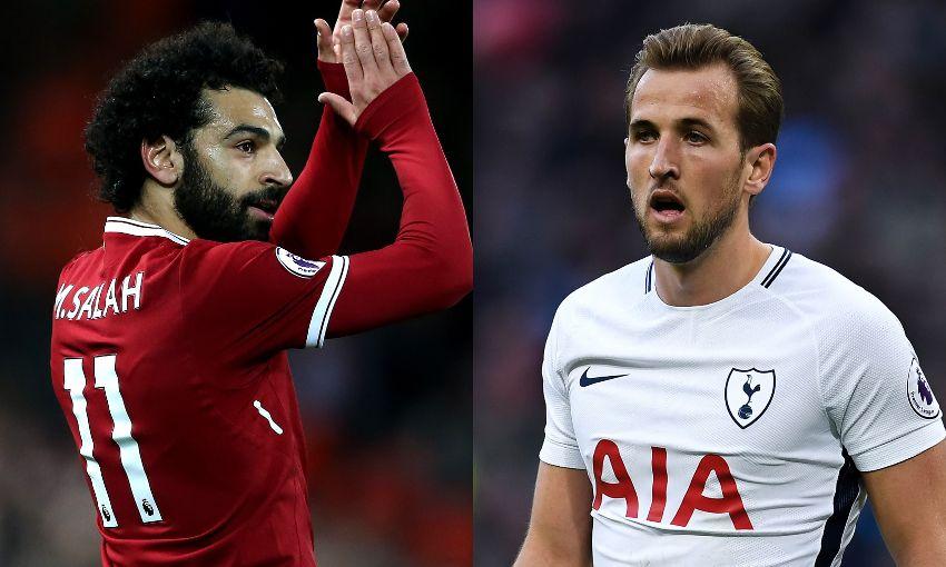 Salah in Kane sta v lanski presegla mejo 30 doseženih zadetkov v eni sezoni Premier lige. Tudi v novi sezoni bosta glavna kandidata za naziv kralja strelcev. Vir: Telegraph