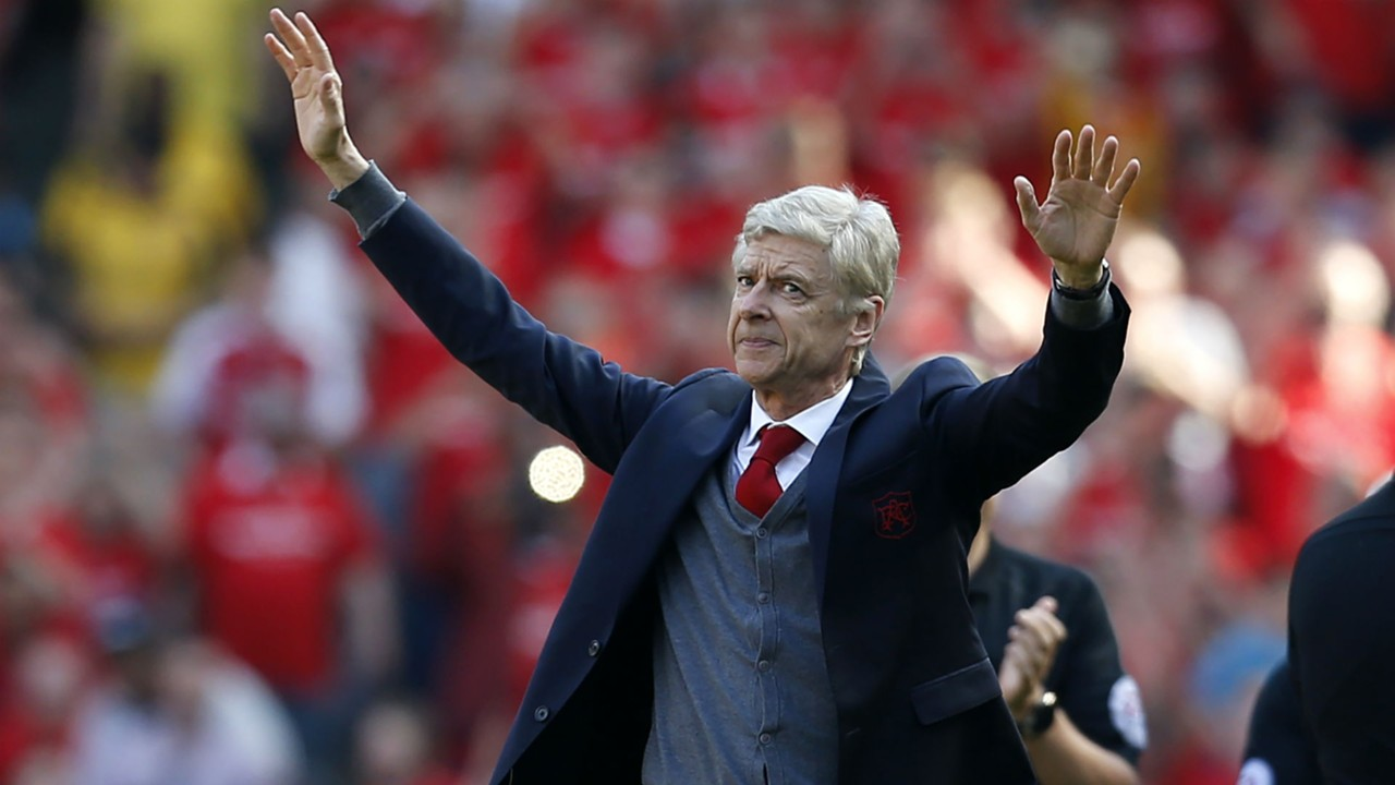Arsene Wenger je topničarje s klopi vodil neverjetnih 22 let! Vir: goal.com