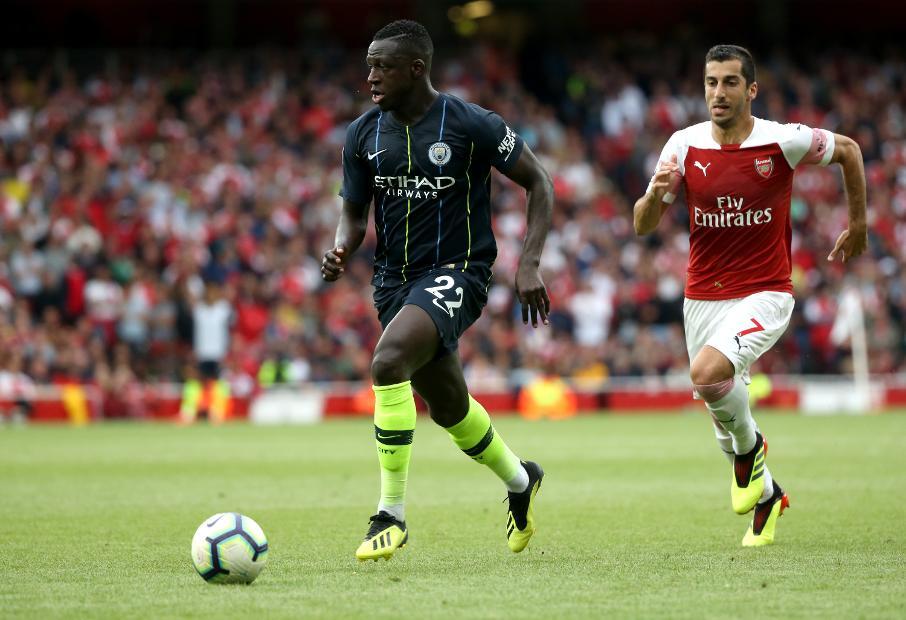 Benjamin Mendy je bil na tekmi z Arsenalom izjemno napadalno usmerjen. Proti lažjim tekmecem, s katerimi se bo City pomeril v prihajajočih tednih, bo verjetno še nekoliko bolj. Foto: Express.