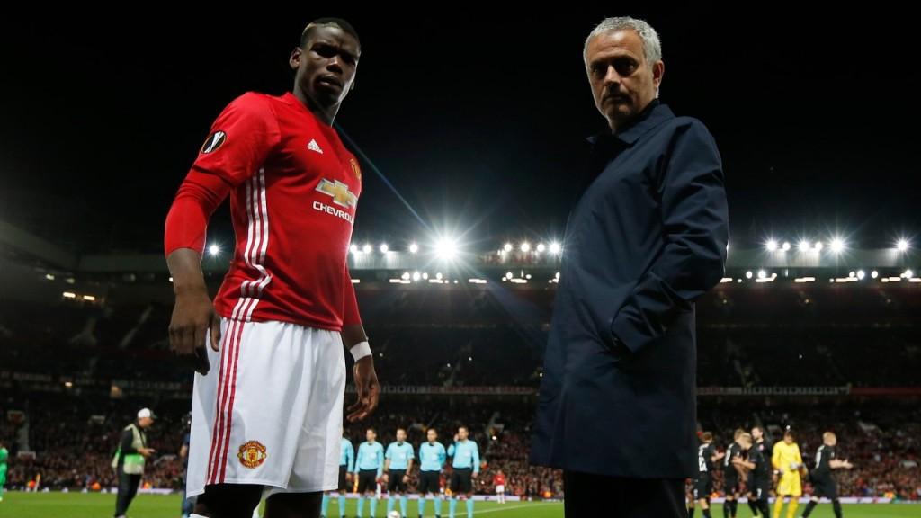 Pogba in Mourinho bosta morala pozabiti zamere in se združiti v boju proti Liverpoolu. vir: Squawka.com