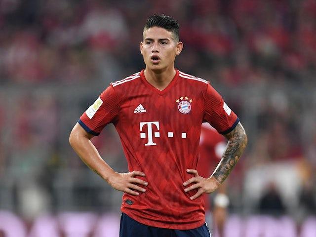 James je v letošnji sezoni Bundeslige na 9 nastopih vpisal 3 zadetke. Vir: Twitter