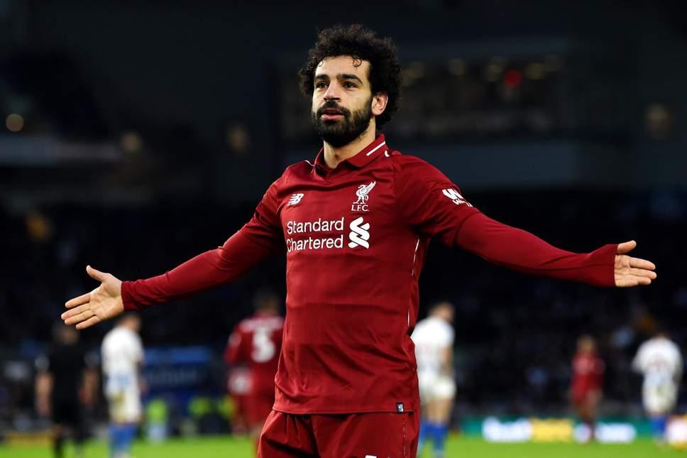 Mohamed Salah je v lanski sezoni podrl rekord po številu doseženih zadetkov v sodobnem formatu Premier lige (32). Letos se bo temu dosežku bržkone težko približal. virFOTO: Evening Standard